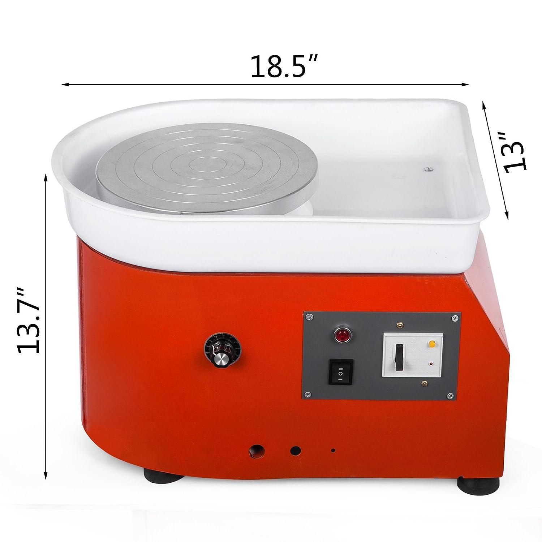 Amazoncom Shareprofit Pottery Wheel 25Cm Pottery Forming Machine 250W Electric