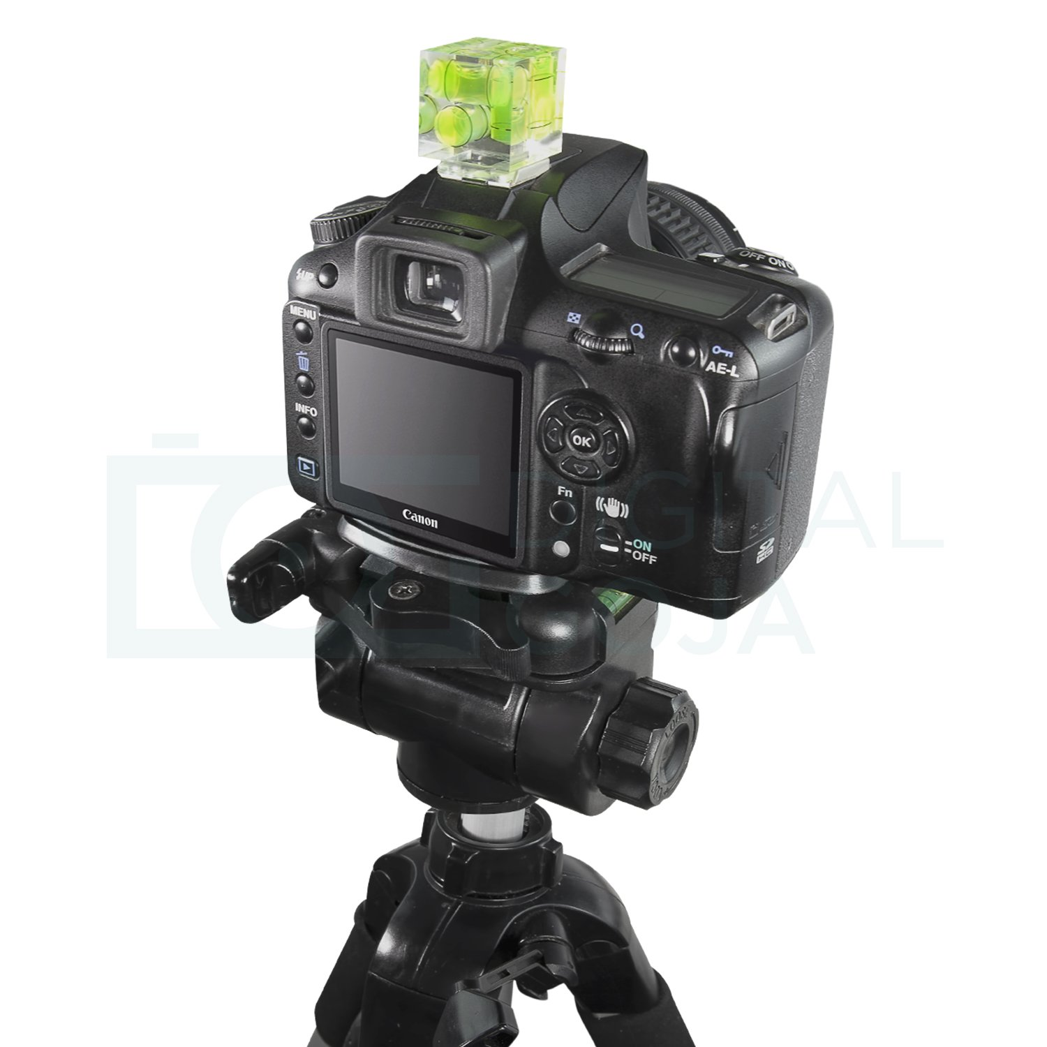 Three Axis Hot Shoe Bubble Level For All Dslr Cameras Spirit Nikon Canon Pentax Olympus Panasonic With A Standard Mount Sony Camera Photo