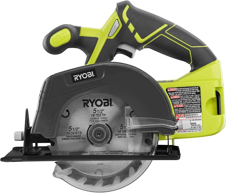 Ryobi P1819 18V One+ Lithium-Ion Combo Kit With Six Tools:
