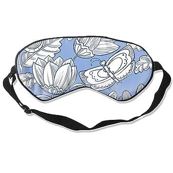 Amazoncom Floral Butterflies Sleep Eye Mask For Sleeping