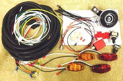 "Complete Harness /""Turn Commander/"" Signal /& Horn Kit for SXS ATV Street Legal"
