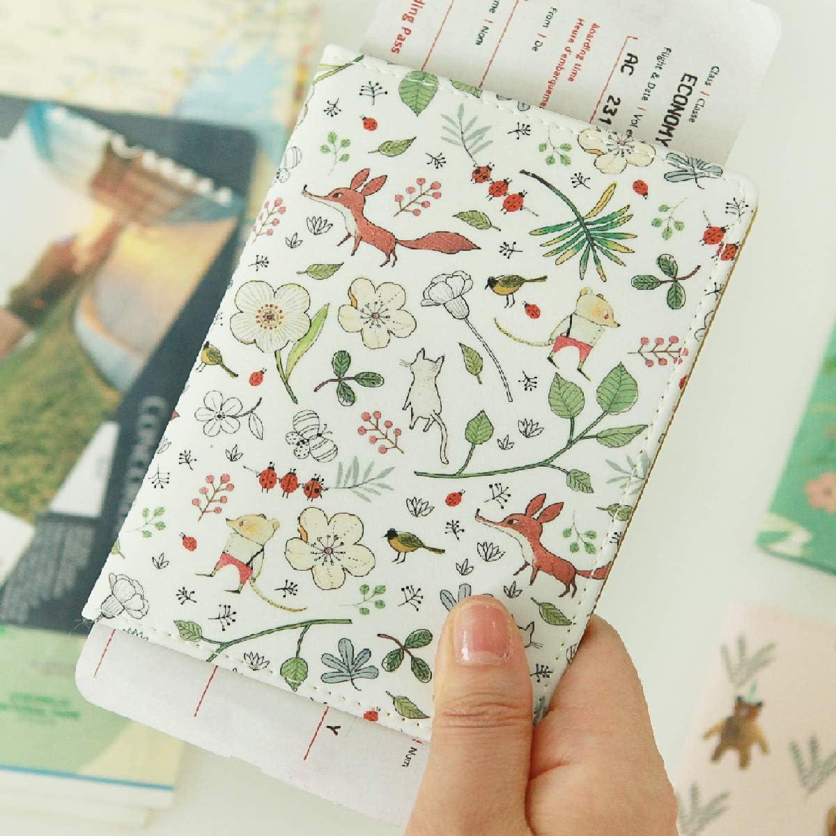 Indigo Willow Pattern Passport Case Mint
