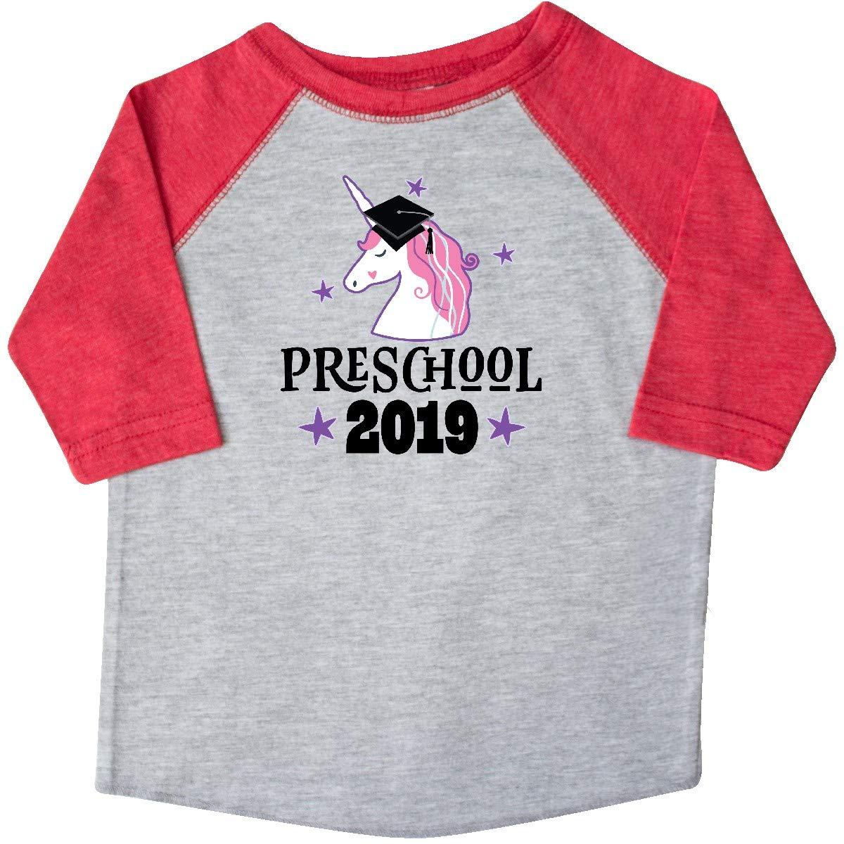 inktastic Preschool Class of 2019 Unicorn Toddler T-Shirt