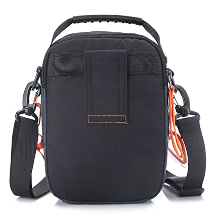 a8a028abd4 Amazon.com  JAKAGO Waterproof Shoulder Bag Universal Small Messenger Bag  Handbag Mobile Phone Pouch Cross Body Bag Purse with Shoulder Strap for  Outdoor ...