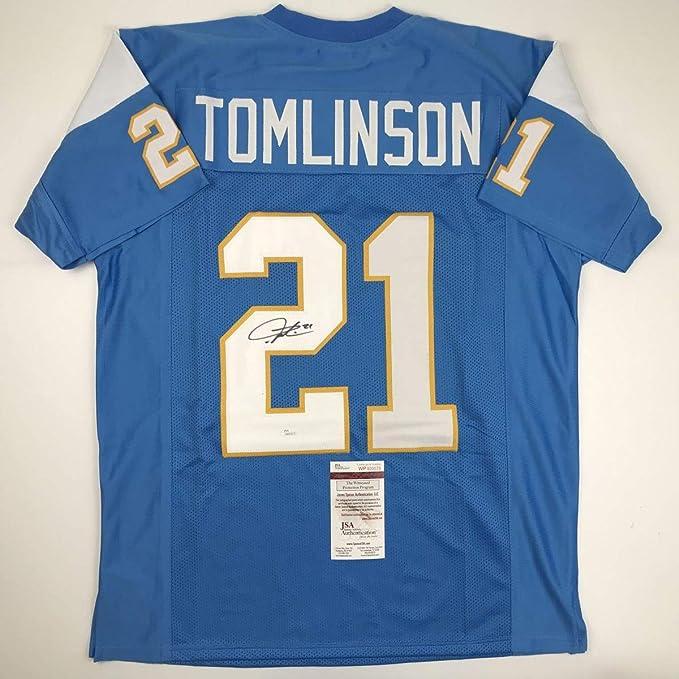 9ff2166d Autographed/Signed LaDainian Tomlinson San Diego Powder Blue ...