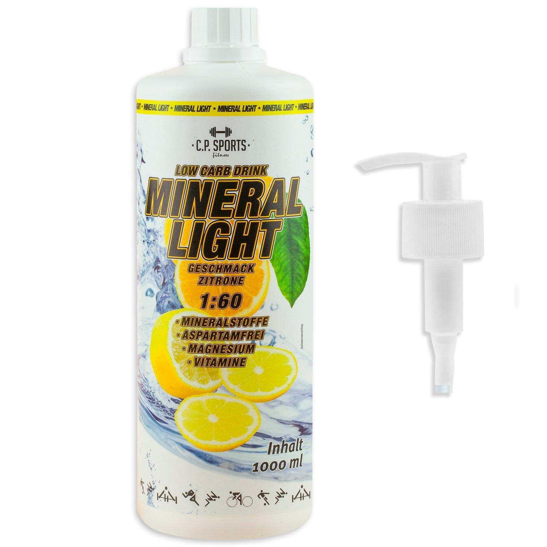 C.P. Sports Mineral Light Getränke Sirup Electrolyte Konzentrat 1 ...