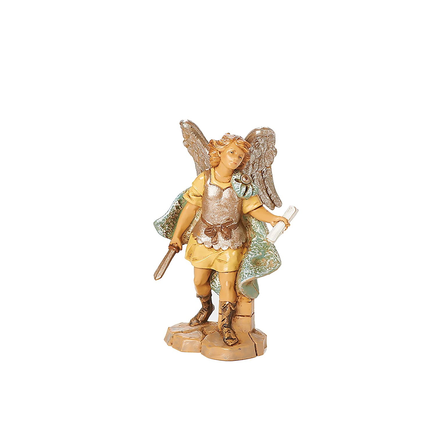 Fontanini by Roman Gabriel The Archangel Figurine, 5-Inch 54069