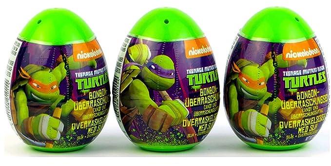 Amazon.com: Tres Nuevos Teenage Mutant Ninja Turtles ...