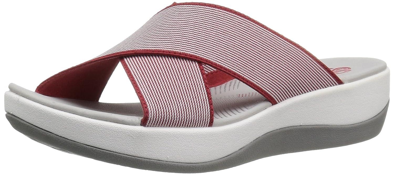 Red Clarks Women's Arla Elin Sandals