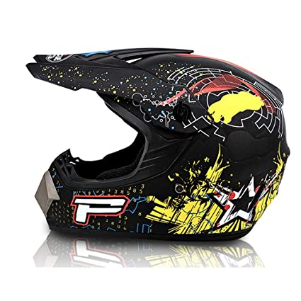 Amazon.es: Adolescentes Casco de Moto Todoterreno para Adultos ...