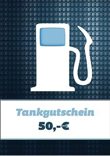 Cooler Tankgutschein (Blanko)/ Geschenkkarte Mit Zapfsäule über 50 Euro Zum  Führerschein, Für