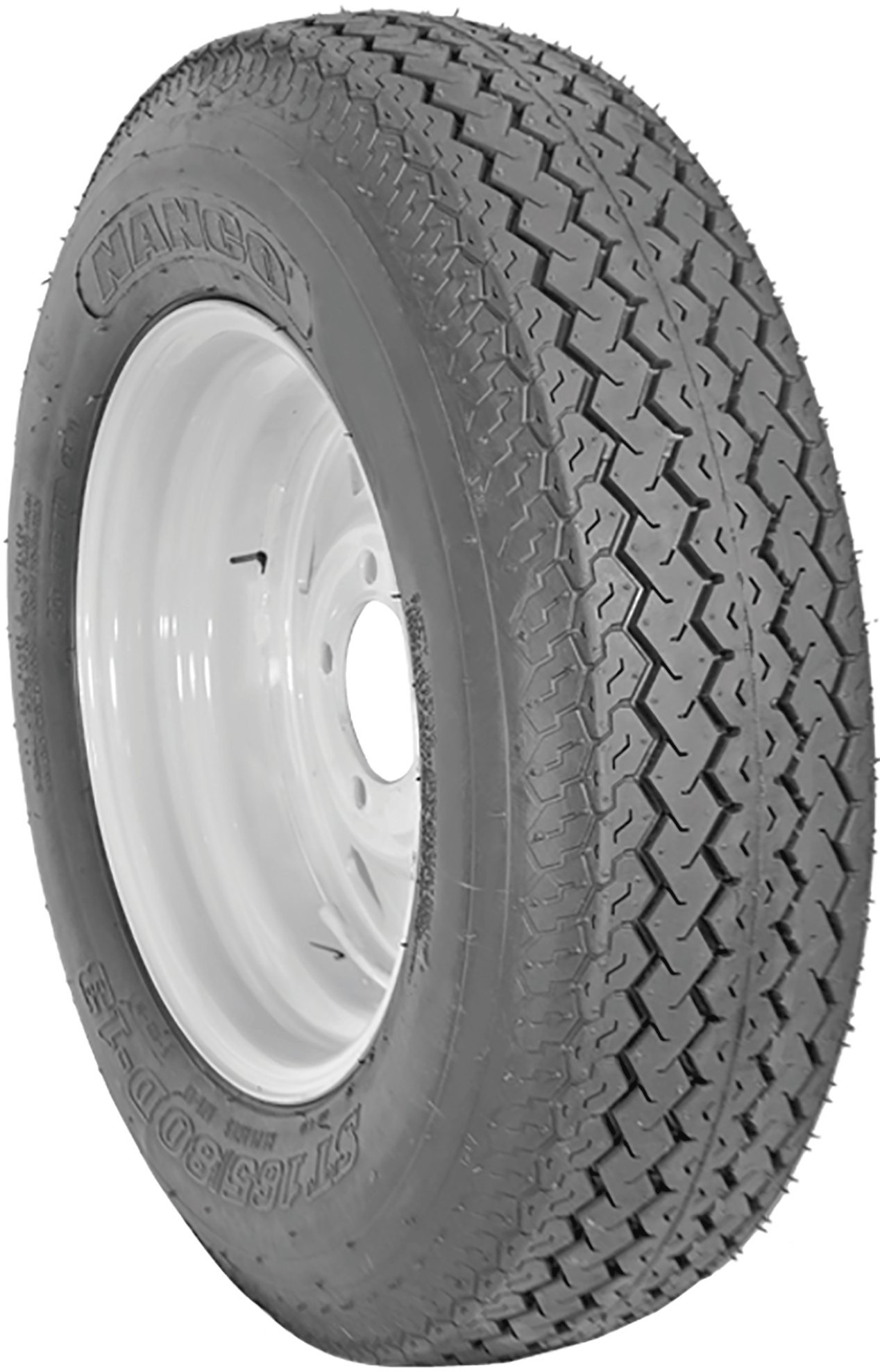 ST 175/80D13 Nanco S622 6 Ply C Load Bias Trailer Tire 1758013