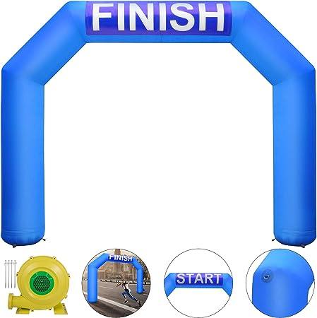 Amazon.com: Happybuy Arco hinchable hexagonal arco inflable ...