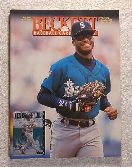 Ken Griffey Jr Seattle Mariners Beckett Baseball Card Monthly