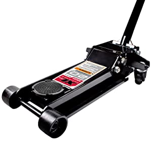 4. Arcan XL20 Black Low Profile Steel Service Jack