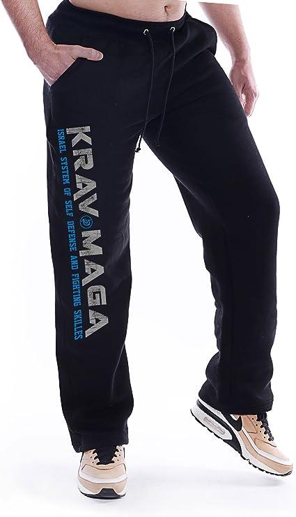 Dirty Ray Artes Marciales Krav Maga pantalón de chándal hombre ...