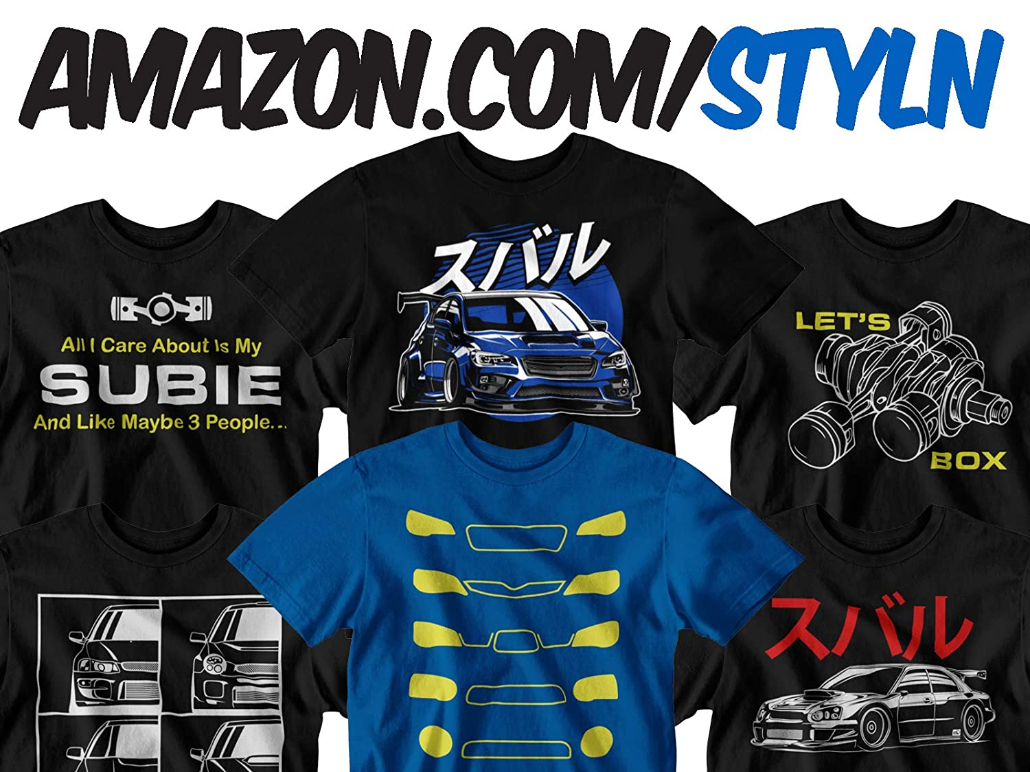 All I Care About is My Subie T-Shirt
