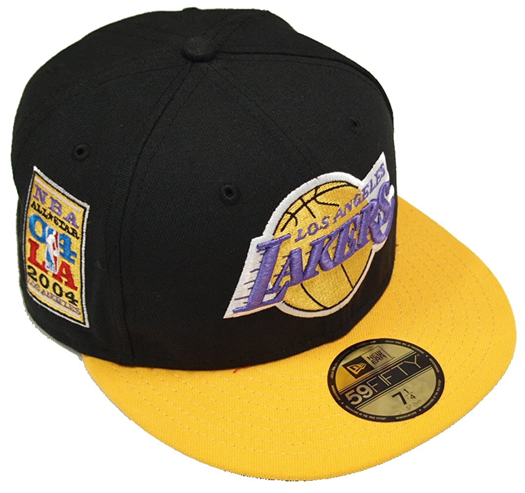 Gorra New Era: All Star Capper Los Angeles Lakers BK/YL 7.1/8 ...
