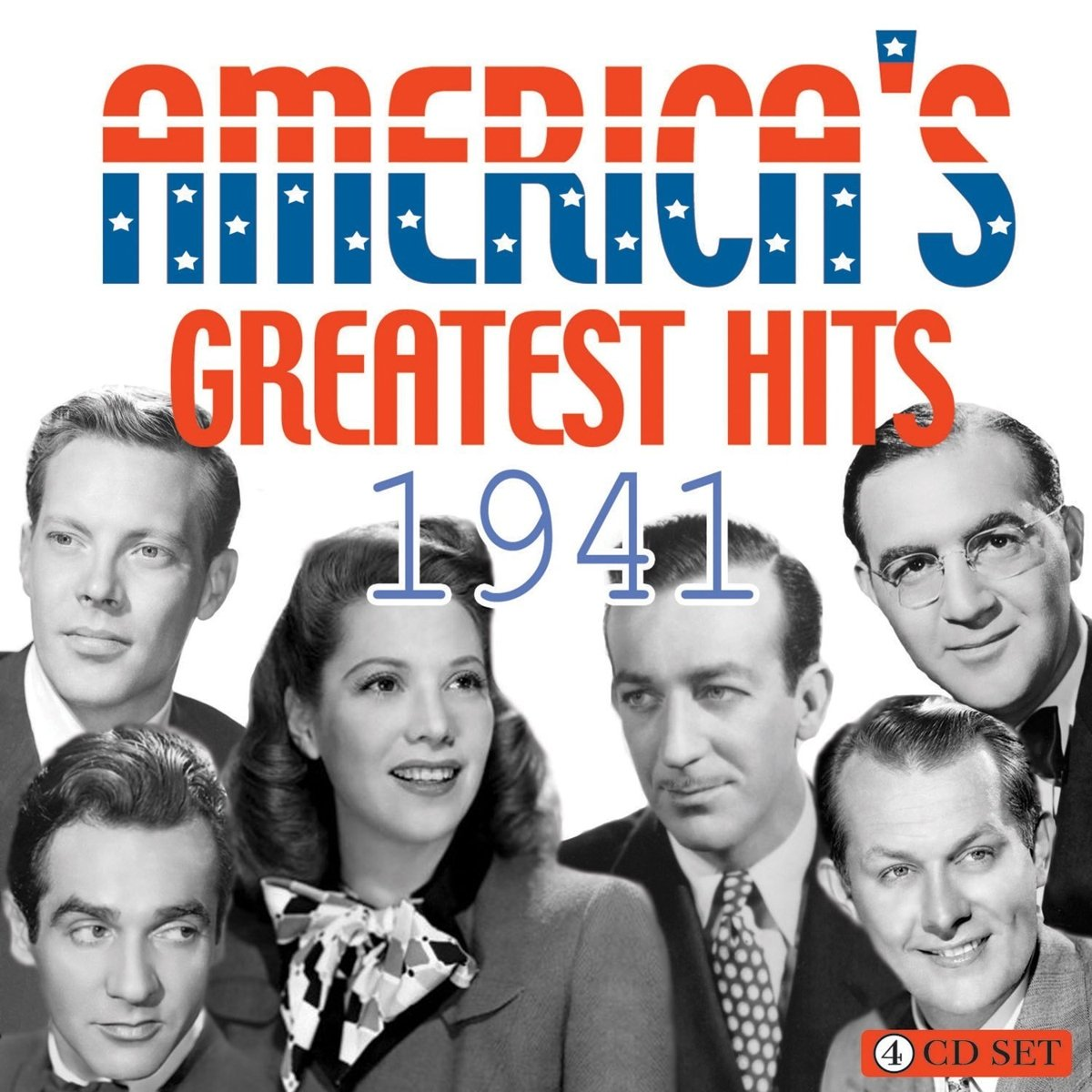 CD : VARIOUS ARTISTS - America's Greatest Hits 1941 / Various (4PC)