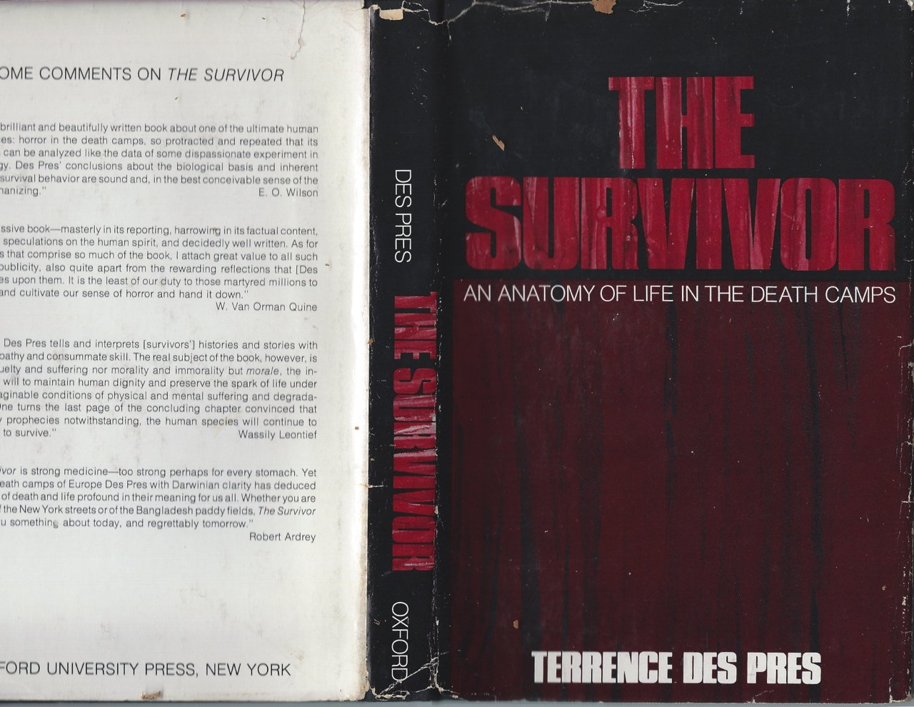 Buy The Survivor Anatomy Of Life In The Death Camps Book Online At