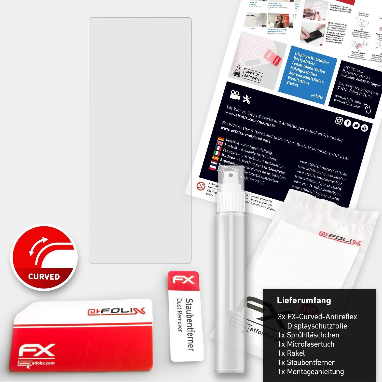 atFoliX Anti-Choque L/ámina Protectora de Pantalla para FiiO M3K Antichoque Pel/ícula Protectora 3X antirreflectante y Flexible FX Pel/ícula Protectora