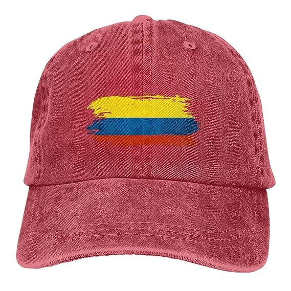 Bandera de Colombia Adulto Personalizar Jeans Hip Hop Gorra de ...