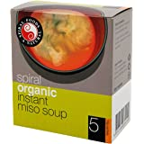 Spiral Foods Organic Instant Miso Soup 5 Sachets