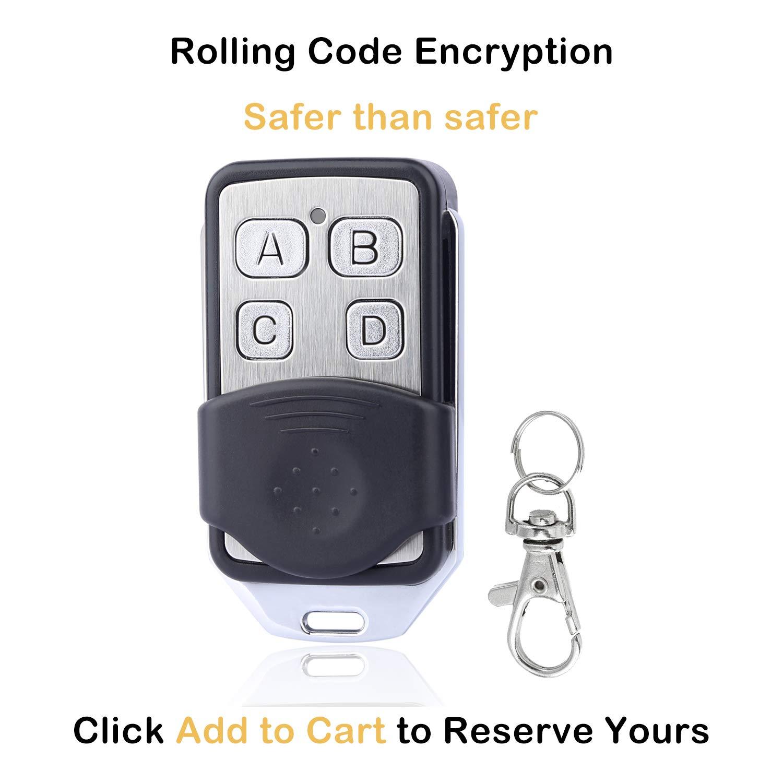 How To Program Garage Door Remote >> Garage Door Opener Remote Compatible With Liftmaster Chamberlain Craftsman Openers With Purple Learn Button 315mhz 4 Buttons Garage Door Remote