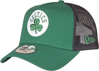 A NEW ERA Era League Essential Trucker Cap ~ Boston Celtics ...