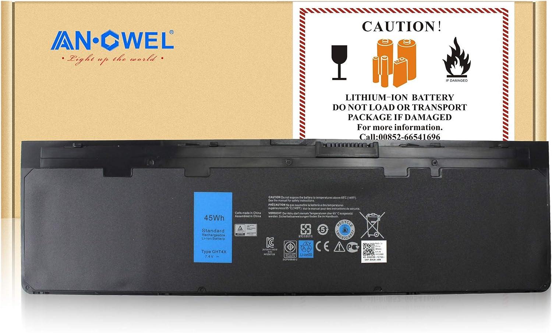 Angwel New VFV59 Battery for Dell Latitude E7240 E7250 451-BBFX 451-BBFW 451-BBFT 451-BBFV 451-BBFY WD52H HJ8KP J31N7 GVD76[11.1V 31WH]