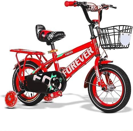 Bicicleta de los niños 2-3-4-6-7 Años de Edad niños Bicicleta Niño ...