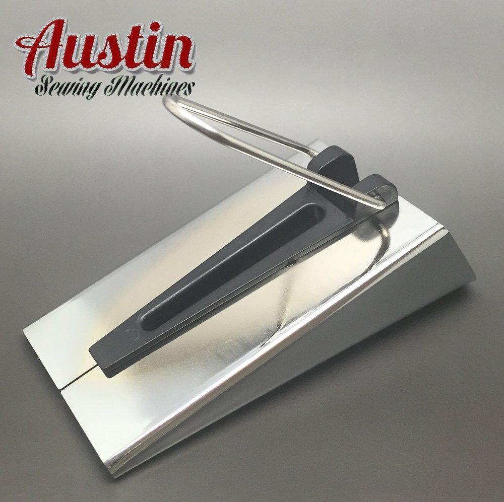 17.3 x 9.1999999999999993 x 5 cm Austin 50 mm 2-Inch Bias Tape Maker Silver