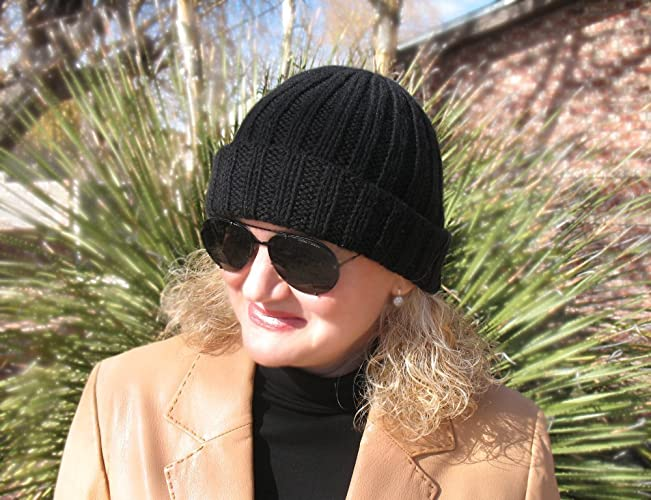 8262266befe Image Unavailable. Image not available for. Color  Watchman s Cap Knitted  Beanie Hat Knit Wool Hat Girls Boys ...
