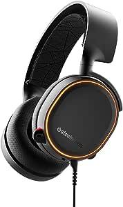 SteelSeries Arctis 5 7.1 Surround RGB Gaming Headset, Black