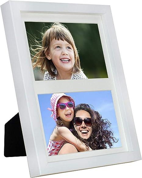 10x15 Cadre Photo Blanc Noir Plastique Cadre Photo Photo 13x18 passe-partout