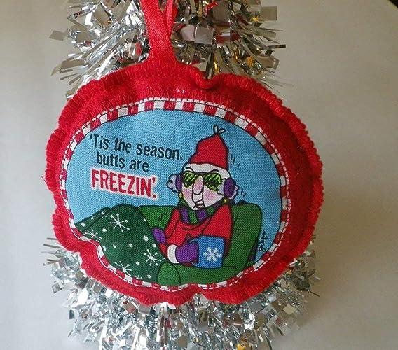 Maxine Christmas Tree Ornament, Red Felt Holiday Decor, Funny Cartoon  Character Home Accent - Amazon.com: Maxine Christmas Tree Ornament, Red Felt Holiday Decor