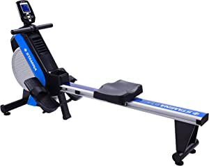 Stamina DT Plus Rowing Machine 1409 / Includes Two Online Expert-Guided On Demand Workouts/Stream from Any Device