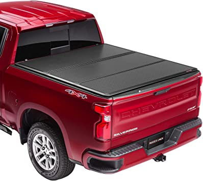 Amazon Com Rugged Liner Hc3 Premium Hard Folding Truck Bed Tonneau Cover Hc3 Tun5514 Fits 2014 2021 Toyota Tundra With Or W O Utility Track 5 7 Bed 66 7 Automotive