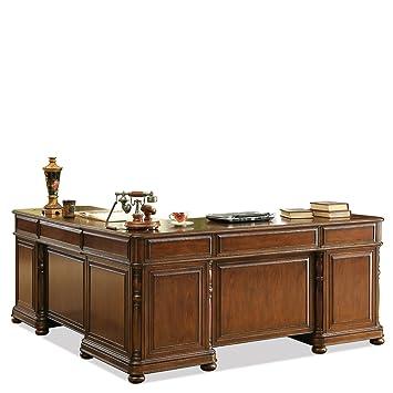 Amazon Riverside Furniture Bristol Court L Desk And Return In