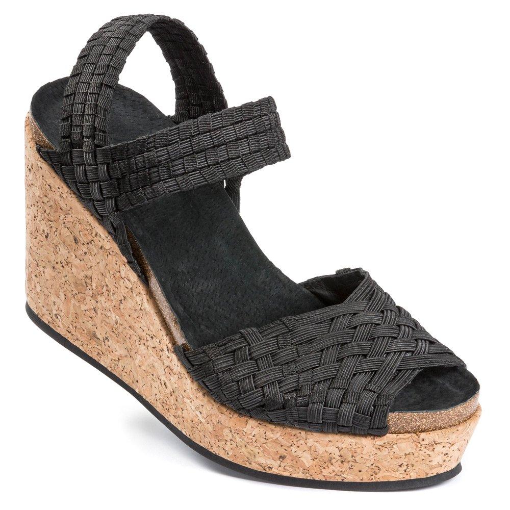 Adam Tucker Women's Posy Sandals B00VQK31VI 7.5 B(M) US|Black