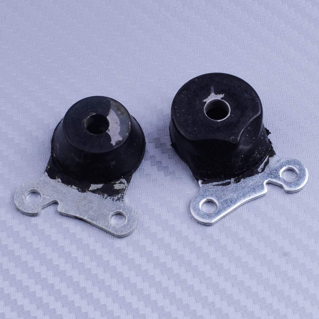 2pcs AV Annulaire Tampon Fit Pour Stihl MS200T 020T Tron/çonneuse 1129 790 9902 1129 790 9900 M/étal et Caoutchouc