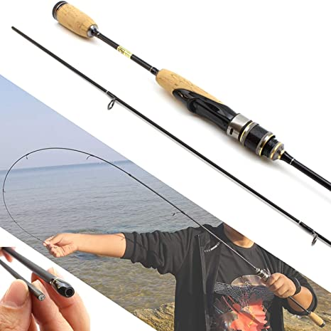 Small Lake Fishing rod 1.8M Madera Varilla señuelo Mango de la ...