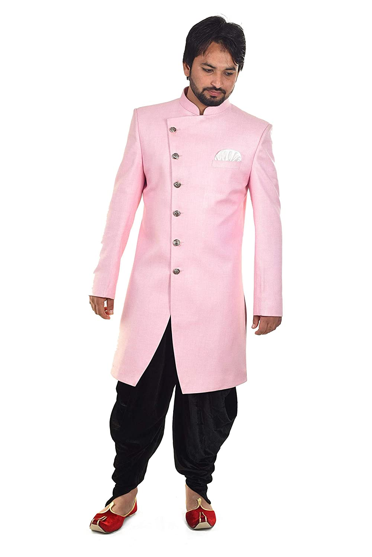 Image result for baby pink mens sherwani