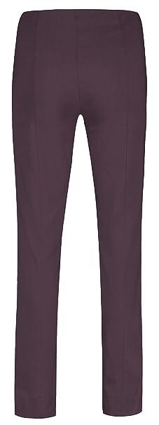 dfc93fdb255f Robell Marie Stretchhose Schlupfhose Damen Hose Slim Fit - Winterkollektion  2015 16  Amazon.de  Bekleidung