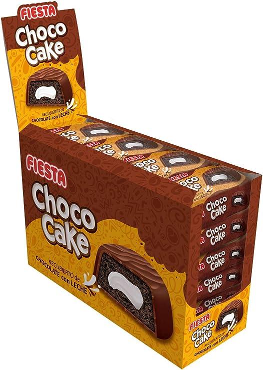 FIESTA Choco Cake Bizcocho esponjoso recubierto de chocolate con ...