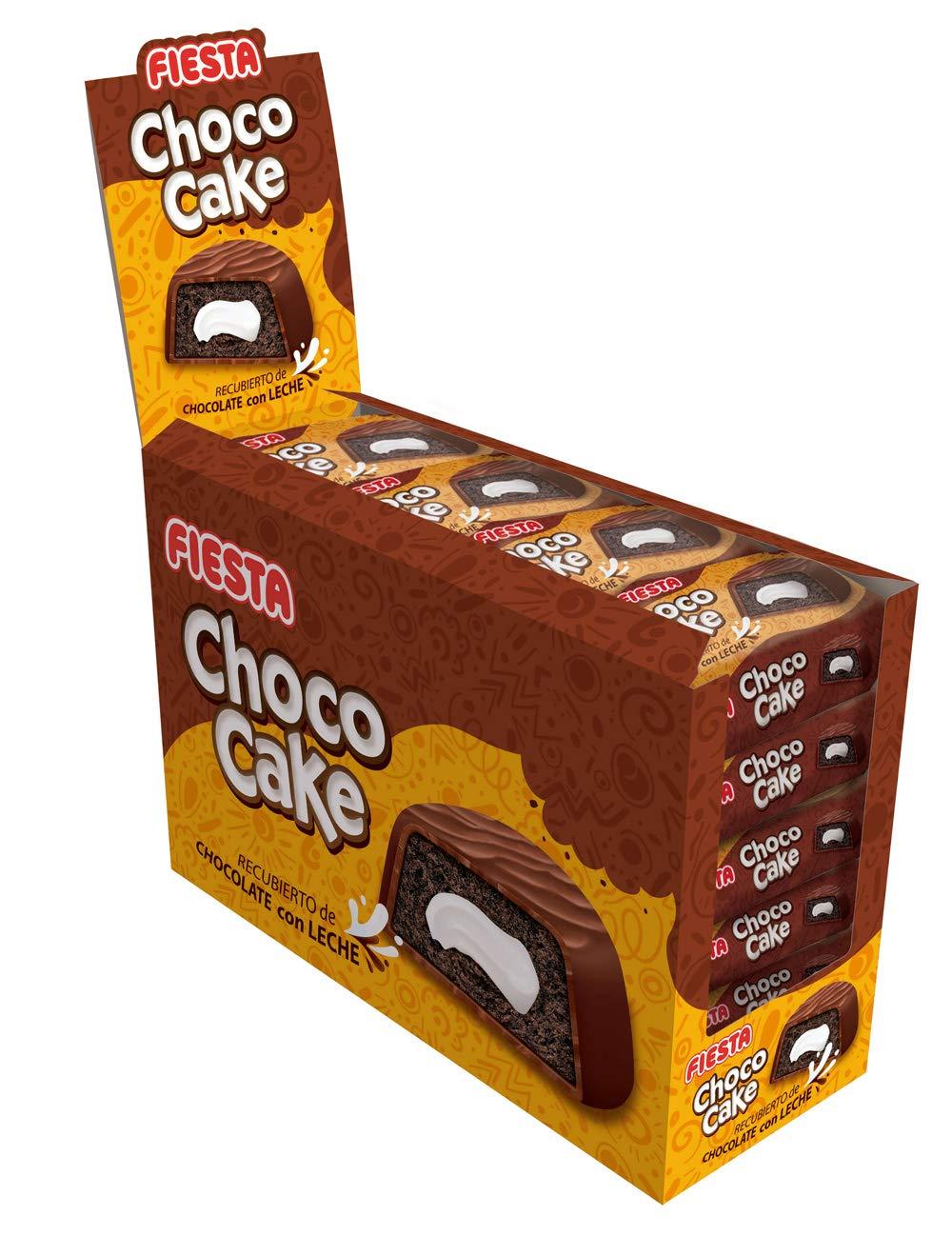 FIESTA Choco Cake Bizcocho esponjoso recubierto de chocolate ...