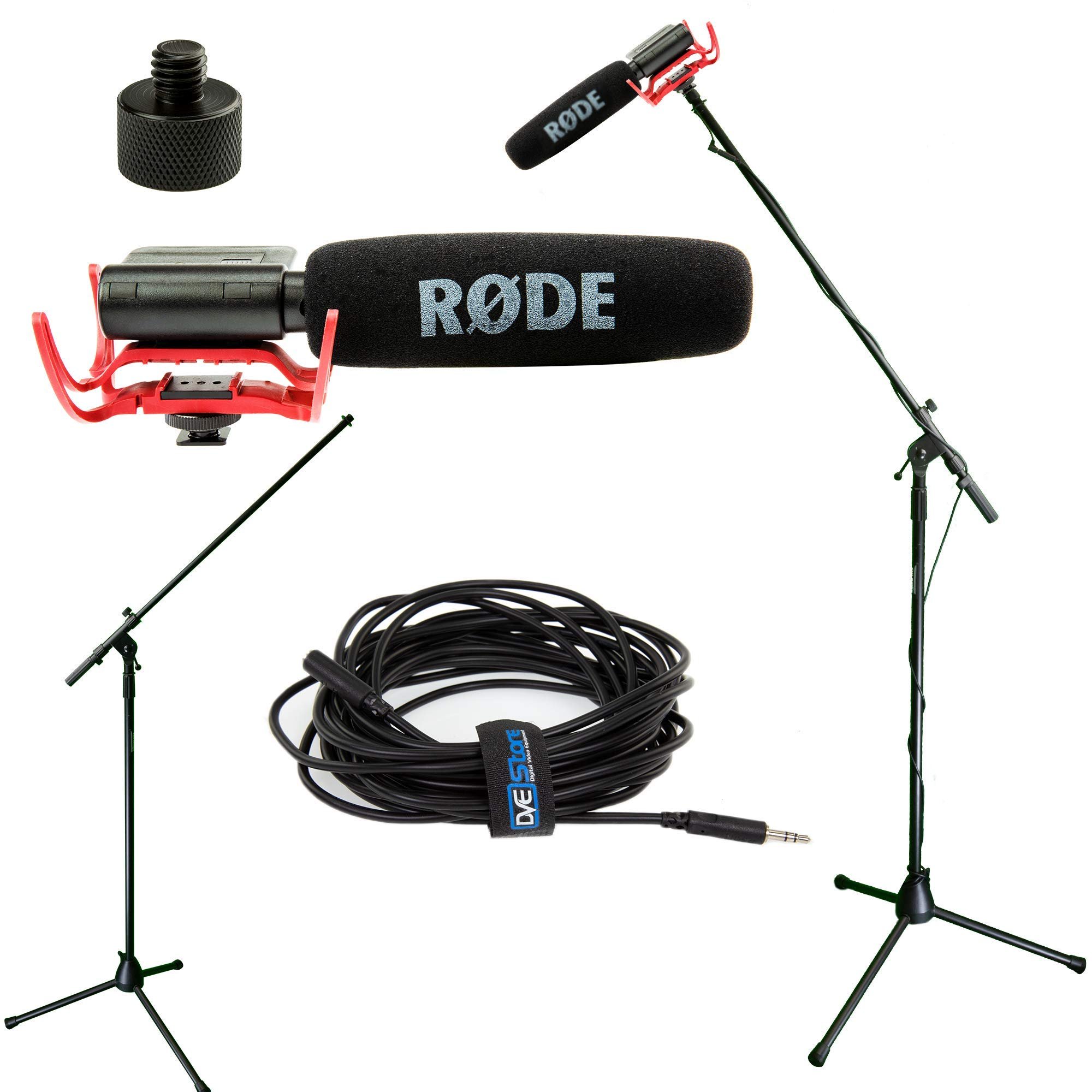 RODE VideoMic Studio Boom Kit - VM, Boom Stand, Adapter, 25' Cable by Rode