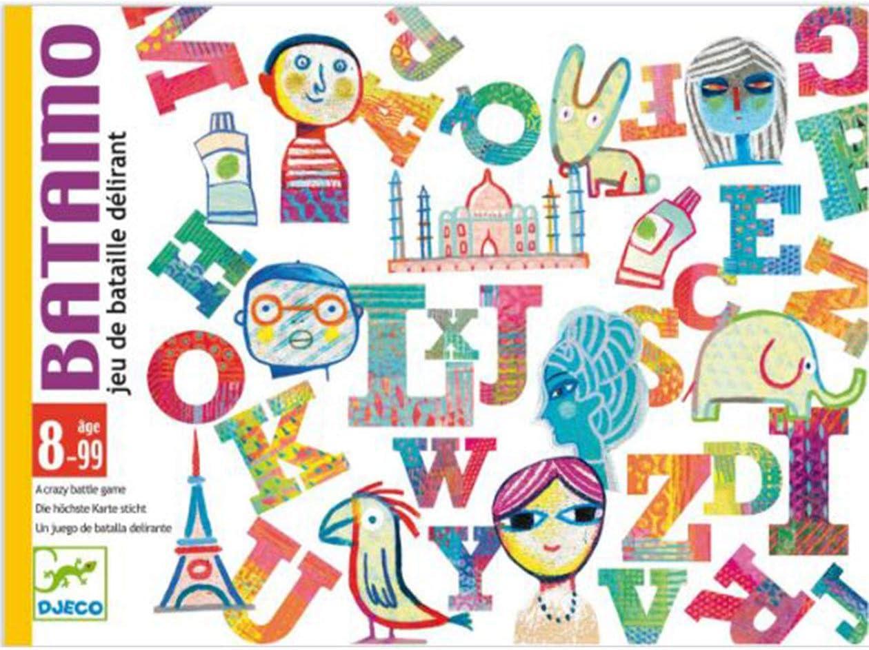 DJECO- Juegos Cartas Batamo, Multicolor (DJ05189): Amazon.es: Juguetes y juegos