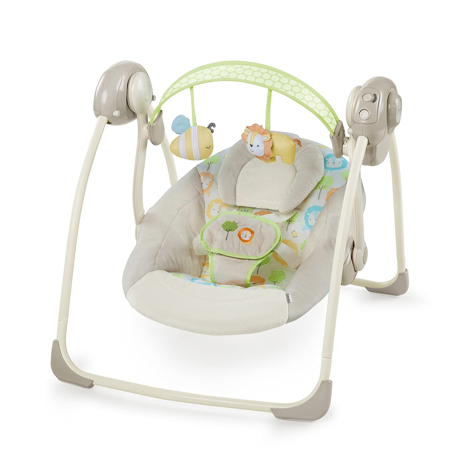 Ingenuity SooThe 'n Delight Portable Swing, Sunny Snuggles Kids II 10248