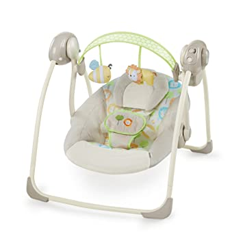 ce3c86c19 Amazon.com   Ingenuity Soothe  n Delight Portable Swing
